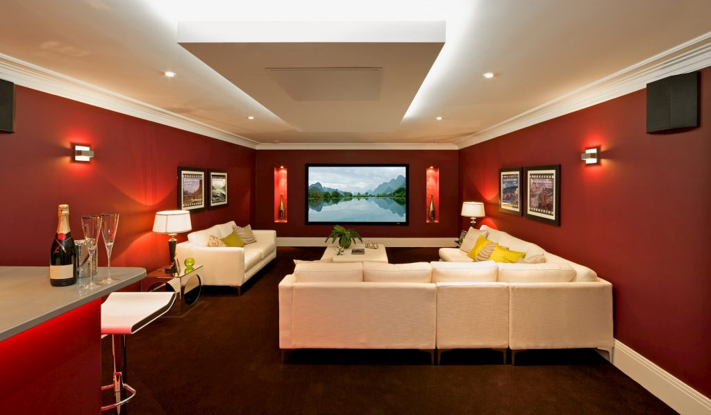 amazing basement home theater - basement design