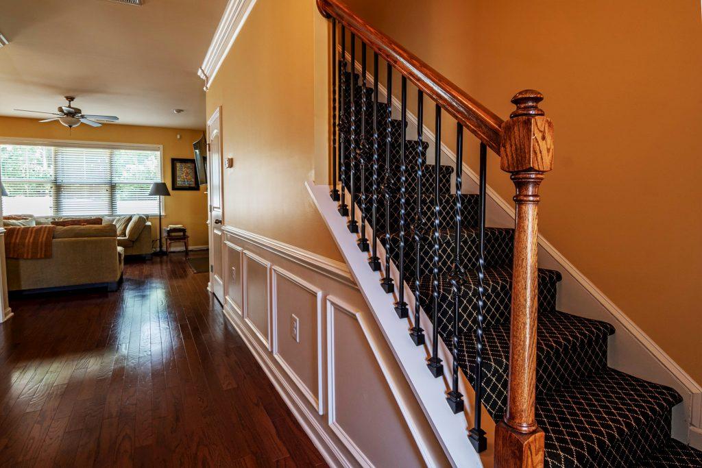 amazing custom home interior with wainscoting toronto