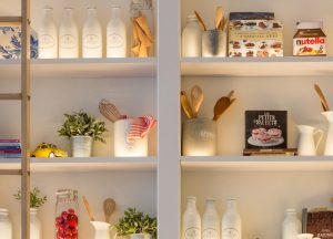 custom kitchen shelves by domot reno group - kitchen renovations toronto