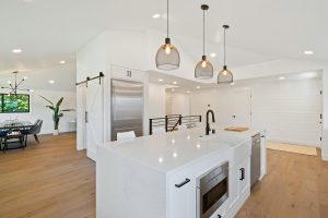 amazing kitchen with build in appliances - kitchen renovation cost