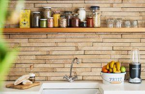 amazing kitchen with tile backsplash wall - kitchen renovations