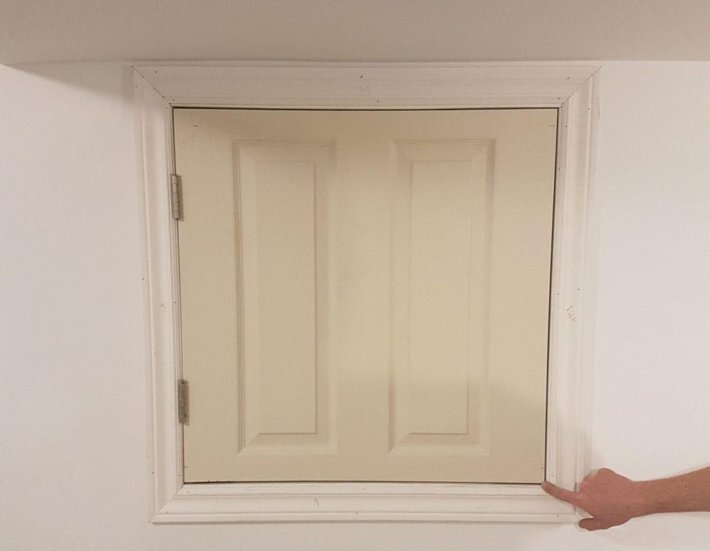 small closet door - interior door installation